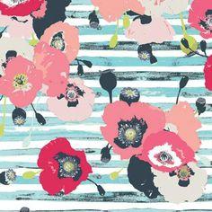 Paparounes in Pastel by Bobbie Lou's Fabric Factory