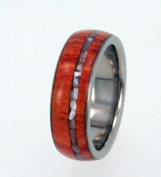 My rustic, wooden engagement ring <3