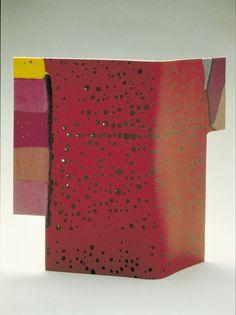 Judi Elliott ~ kiln formed and etched glass ~ 2005 Ranamok Glass Prize Finalists
