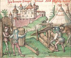Lirer, Thomas: Schwäbische Chronik Schwaben (Ulm?), Ende 15. Jh. Cgm 436  Folio 10