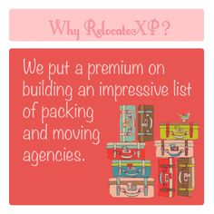 Best Movers & Packers only at RelocateXP!