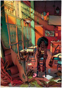 Havana's Dream on Behance Oliver Bonhomme