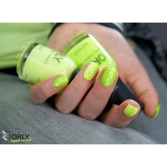 fall in ...naiLove!: Orly Key Lime Twist vs. Thrill Seeker.