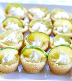 Satisfy your sweet tooth with these key lime pie bites. Get the recipe at Real House Moms.   - CountryLiving.com