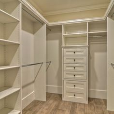 Storage and Closets Design Ideas - now this is closet organization that I'd like to have . . .