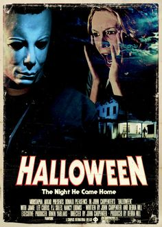 2014's Marathon: HALLOWEEN (1978) - A psychotic murderer institutionalized since childhood for the murder of his sister, escapes and stalks a bookish adolescent girl and her friends while his doctor chases him through the streets.