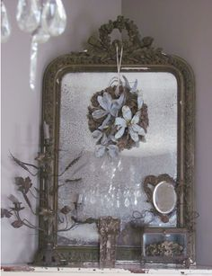 The perfect antique French mirror