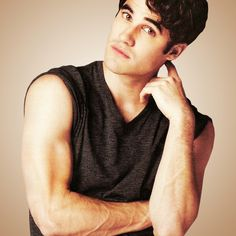 Darren Everett Criss and his biceps.