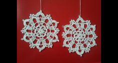 coccarde natalizie - christmas crochet decoration