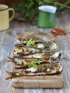 Sardinas aliñadas al horno Tapenade, Tapas, Pesco Vegetarian, Cooking Recipes, Healthy Recipes, Slow Food, Mediterranean Recipes, Fish And Seafood, I Love Food