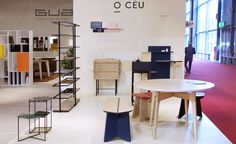 WALLPAPER In an unusual design collaboration that melds the aesthetics of German designer Matthias Lehner with the manufacturing of Portuguese brand Gual, O CÉU is a new furniture company, launched at Salone del Mobile, that embraces all the best parts of the E...