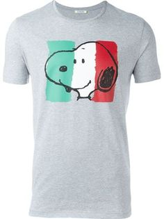 Iceberg Snoopy print T-shirt