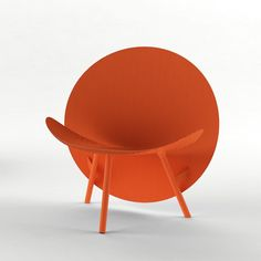 Halo coloured carbon fiber chair by Hypetex + Michael Sodeau