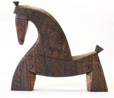 Horse Sculpture, Animal Sculptures, Wood Craft Patterns, Scandinavian Folk Art, Wood Animal, Wooden Art, Wooden Horse, Wooden Shapes, Ceramic Animals