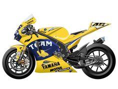 Yamaha YZR-M1 2006 - Camel Team