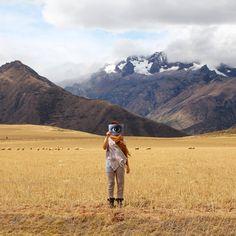 Cerca al salar de Maras, Valle Sagrado-Cusco // Visybilidad  [Ojo // Eye]