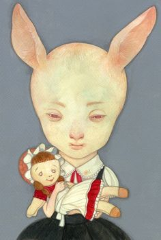 rabbit by ~hikarishimoda