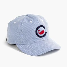 Ebbets Field Flannels® for J.Crew Chicago Whales ball cap 8698351073db