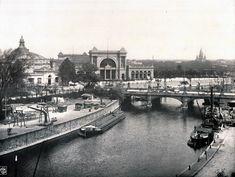 1900 - Lehrter Bahnhof, Berlin, Germany. Abgerissen. Der neue Hauptbahnhof steht…