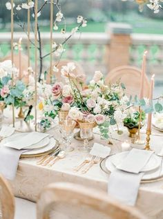This styled shoot at the Cairnwood Estate from Lauren Fair Photography and East Made Co. is all the pretty a girl could ever ask for. The minute we laid eyes on these heavenly images, we were floating. Reception Table, Wedding Reception Decorations, Wedding Centerpieces, Table Decorations, Wedding Ideas, Wedding Stuff, Wedding Shit, Floral Centerpieces, Reception Ideas