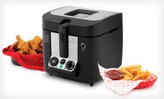 Groupon - $ 64.99 for a Wolfgang Puck 3-Liter Programmable Cool-Touch Deep Fryer ($ 129.99 List Price). Free Shipping and Returns.. Groupon deal price: $64.99