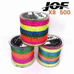 [ 44% OFF ] 500M Fishing Line Fiber From Japan 8 Strands Colorful Braided Fishing Line Multifilament Fishing Line