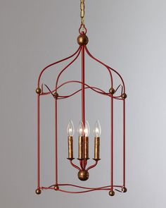 This bright red pendant light would look great in a hall or entryway. Buy it here: http://www.bhg.com/shop/horchow-red-carousel-lantern-pendant-light-p507fbcd082a7862e65d1116b.html?socsrc=bhgpin110812shopredlantern