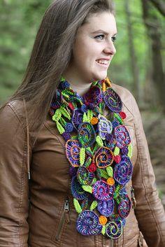 Ravelry: Garden Scarf pattern by Lisa Dougherty