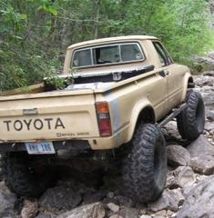 1981 Toyota Truck Long Bed Build by Toyota Pickup 4x4, Toyota Trucks, Lifted Ford Trucks, Toyota 4runner, Toyota Tacoma, Toyota Tundra, Mini Trucks, Pickup Trucks, Range Rover Jeep