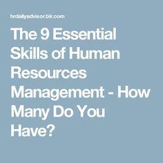 human resources goals