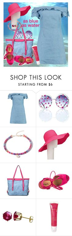 """""""underwater blue"""" by daincyng ❤ liked on Polyvore featuring Gasoline Glamour, John Lewis, Qupid, Lancôme, dreamers and asblueaswater"""