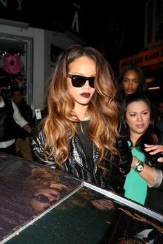 Rihanna - Rihanna and Cara Delevingne Leave The Box Nightclub