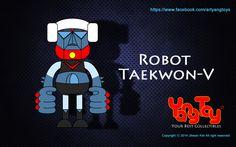 Robot Taekwon - V