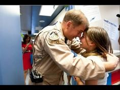 """[VIDEO] Air Force Dad Surprises Daughter After His Return From Afghanistan  