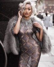Micah Gianneli | Fall 2017 Winter 2018 | AucciKnitting | Knitting | Knitting project | Knitwear 2018 | Moda | Girl | Knitting braids | Dresses | Hand made | Knit dress | Lace | Lace dress | Kleid | Podium | Runway | Street Style fashion blogger | Мода | Вязание | Ручная работа