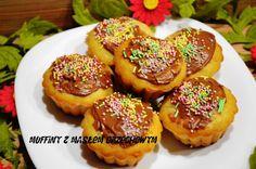 Takie tam pichcenie: Muffiny bananowe z masłem orzechowym