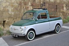 FIAT 500 Pick up...what more could you want in a vehicle?