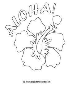 Dessin d'un magnifique collier de fleurs de Tahiti, à