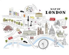 "Another London print - 19.5"" x 15.5"" ($20)"