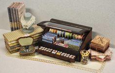 Lisa Engler miniature sewing