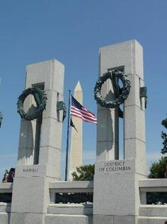National World War Two (WW2) Memorial, Washington DC