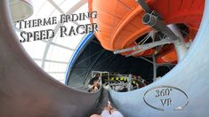 Therme Erding Speed Racer (Yellow Duel Waterslide) 360° VR POV Onride