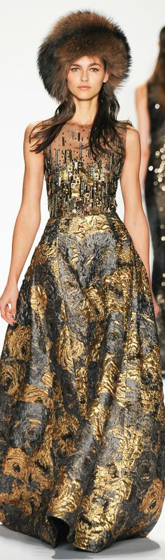 Badgley Mischka, FALL 2014, RTW, READY-TO-WEAR, NYFW, New York Fashion Week,
