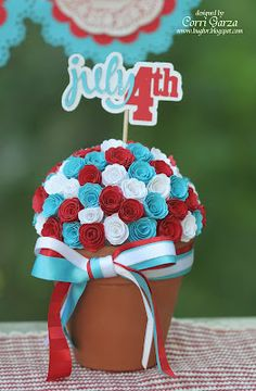 4th of July Party Decor by Corri Garza, files from Lori Whitlock