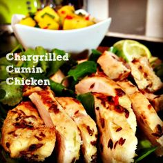 Chargrilled Cumin Chicken. #Healthy #Nutritious