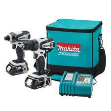 Makita CT200RW 18-Volt 1/2-Inch Compact Lithium-Ion Cordless Combo Kit
