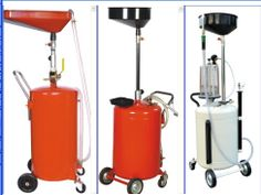 portable oil draining and collecting machine,oil drain equipment,waste oil drain