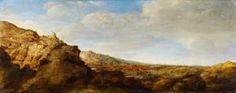 Segers - Berglandschap, paneel, 25.7 x 64.1 cm, ca. 1625-30.