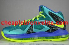 uk availability 27334 6ece9 Buy Nike Air Max Lebrons 10 Elite Cheap Miami Dade Sport Turquoise  Volt-Violet Force Top Deals from Reliable Nike Air Max Lebrons 10 Elite  Cheap Miami Dade ...