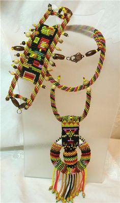 Африка№5   biser.info - всё о бисере и бисерном творчестве